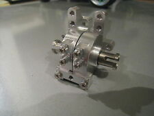 Kyosho Mini Inferno alloysilver Diff-house for front/rear 2 xTitanium joint cup!