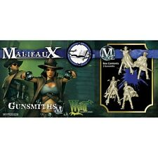 Malifaux The Arcanists BNIB Gunsmiths WYR20328