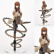 STEINS GATE/ FIGURA MAKISE KURISU 23 CM-ANIME FIGURE ESC. 1/8 IN BOX 9""