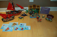 Lot of Playmobil Pirates4432/5737/5869/4444/4802/4801/4804 and add ons
