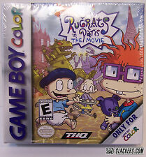 Rugrats in Paris: The Movie (Game Boy Color) Factory Sealed!
