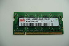 Hynix 512 DDR2 667Mhz PC2-5300 SDRAM 200-Pin Non-ECC SO DIMM Memory for Laptops