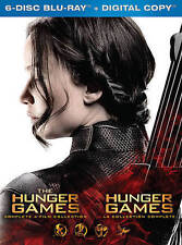 The Hunger Games Collection (Blu-ray Disc, 2016, 6-Disc Set)