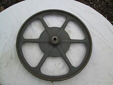 """Delta Rockwell Milwaukee 14"""" Band Saw CAST IRON Upper Wheel LBS-92 Top Vintage"""