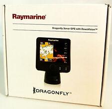 """Raymarine Dragonfly 6 5.7"""" Combo GPS/Fishfinder Combo Transom Mount Transducer"""