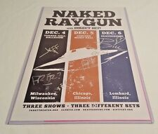 Naked Raygun Autographed 11x17 Poster