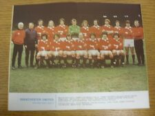 1972/1973 Football League Review: Vol 7 No 32 - Colour Picture - Manchester Unit