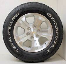 "New Take Off  Chevy Z71 Silverado 1500 Suburban 18"" Wheels Rims OWL Tires"
