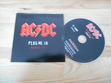 CD Metal ACDC - Plug Me In (2 Song) Promo SONY BMG REC