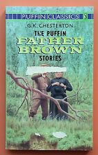The Puffin Father Brown Stories G. K. Chesterton FREE AUS POST! acceptable cond