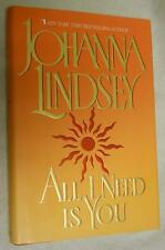 All I Need Is You by Johanna Lindsey (1997, Hardcover)