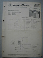Philips L2D62T Nicolette de luxe Kofferradio Service Manual, Ausgabe 01/66