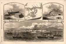 Ship Island and the Approaches to New Orleans    -    Civil War