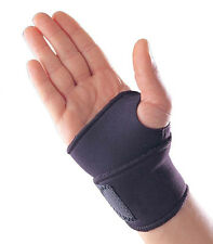 Black Neoprene Thumb Wrist Palm Hand Support Brace Carpal Tunnel Splint Sprain