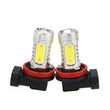 2PCS Auto Xenon Weiß H11 High Power COB LED Nebelscheinwerfer Lampe Bremslicht