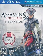 Assassins Creed 3 III Liberation PS Vita Game BRAND NEW SEALED
