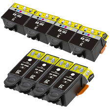 8PKs Black & Color 10 XL Ink Cartridges for Kodak ESP 3 5 7 9 5210 5250
