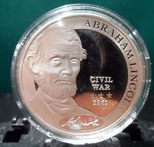 AMERICAN MINT CO'S  COMMANDER IN CHIEF SERIES, ABRAHAM LINCOLN ! (50515)