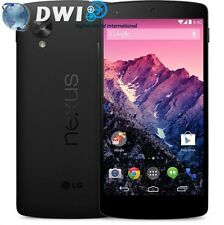 NUOVO LG NEXUS 5 32GB BLACK NERO SMARTPHONE UNLOCKED GOOGLE PHONE