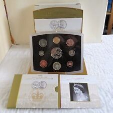 2002 UK EXECUTIVE 9 COIN PROOF COLLECTION - complete
