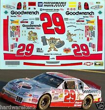 NASCAR DECAL #29 GOODWRENCH TAZ 2001 ROCK & ROLL 400 MONTE CARLO KEVIN HARVICK