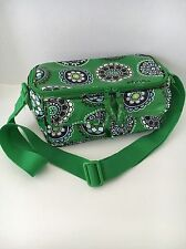 So fun! Vera Bradley Stay Cooler Insulated Lunch Bag Tote Cupcake Green Floral