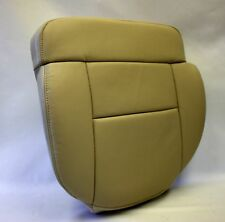 2005 2006 Ford F-150 F150 Driver Bottom Replacement Leather Seat Cover Tan