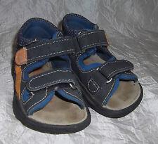 RICOSTA PEPINO süsse leichte Sandalen - blau mit Klett - Gr. 20 Mittel