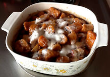 Sheryl's Mom's Homemade Maple Glazed Sweet Potatoes And Apples Recipe .99