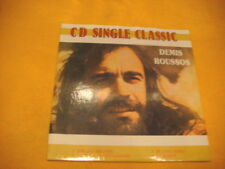 Cardsleeve Single CD DEMIS ROUSSOS CD SINGLE CLASSICS 4TR Forever And EVer , ...