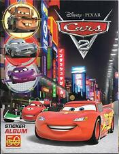 Disney Pixar Cars 2 PANINI STICKER Álbum