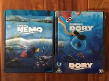 Finding Nemo And Finding Dory (Blu Ray Lenticular Steelbook) Zavvi, Region Free