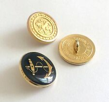 9 CT Gold Anchor Holland & Sherry Blue Blazer Buttons Best Gift for Him