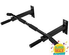 Yes4all Wall Mount Chin Pull Up Bar Workout Fitness Strength Exercise - ²CUK4F