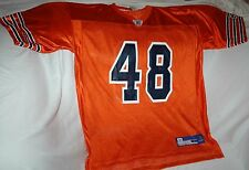 Rare Beattie Feathers jersey! Chicago Bears large NEW! NFL throwback ORANGE