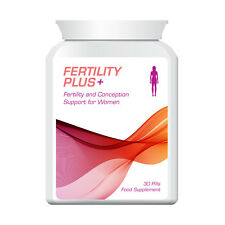 FERTILITY PLUS WOMEN'S FERTILITY & CONCEPTION SUPPORT PILLS FOR WOMEN NO IVF