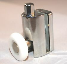 2 x BOTTOM Single Shower Door ROLLERS/Runners/Wheels 23mm in dia L073