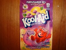 30 *RARE* Kool Aid Drink Mix PURPLESAURUS REX Vit. C Combined shipping available