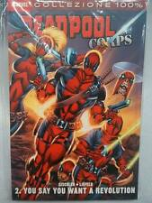 DEADPOOL CORPS 2 YOU SAY YOU WANT A REVOLUTION - MARVEL COLLEZIONE 100% - PANINI