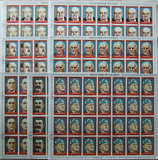 Personalities Stalin Churchill Franco Hiro Hito 1972- 7-  full sheet Ajman A033