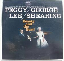 George Shearing and Peggy Lee Beauty and the Beat! Capitol mono T 1219 NM!