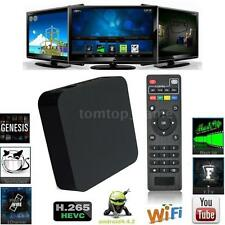 FUlly Loaded Quad Core Smart Android TV Box Media Player 1080P H.265 Mini PC