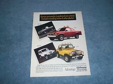 1991 Mopar Accessories Dakota Jeep Parts Vintage Ad