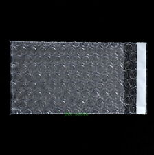 "25 Clear Bubble Packing Envelopes Wrap Bags 5.5"" x 6""_140 x 150+25mm_Self Seal"
