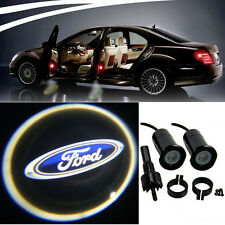 4 x Ford Logo LED Bulbs Projection Courtesy Ghost Shadow Lights Door Decorative