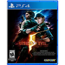 Brand New PS4 Resident Evil 5 *US Version *US Seller