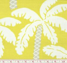 P Kaufmann Palm Lime Indoor Outdoor Palm Tree Print Fabric BTY