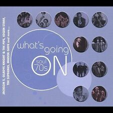 FREE US SH (int'l sh=$0-$3) NEW CD Various Artists: Soul 70's: What's Going On