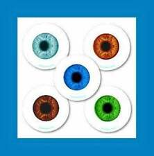 16 Glow in the Dark Eyeball Eye Stickers Party Favors