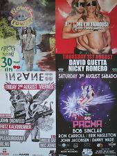 IBIZA 2013 / 12 versch. PACHA - Poster DIN A2 Fan Package nagelneu / Promotion